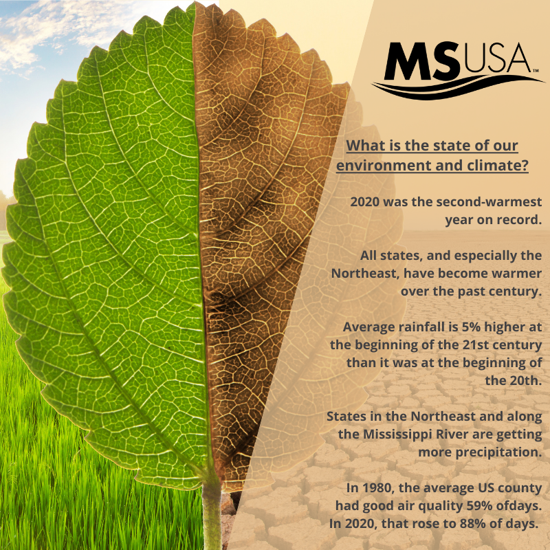 What is the state of our environment and climate?