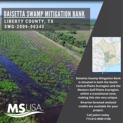 Daisetta Swamp Mitigation Bank