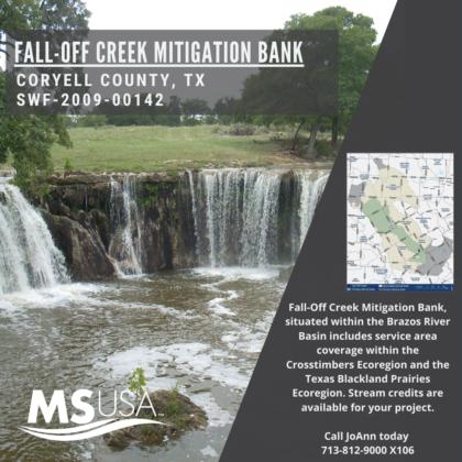Fall-Off Creek Mitigation Bank