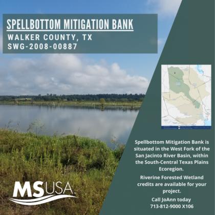 Spellbottom Mitigation Bank